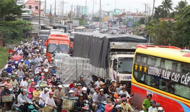 Nghẹt thở khi tham gia giao thông ở các quốc gia