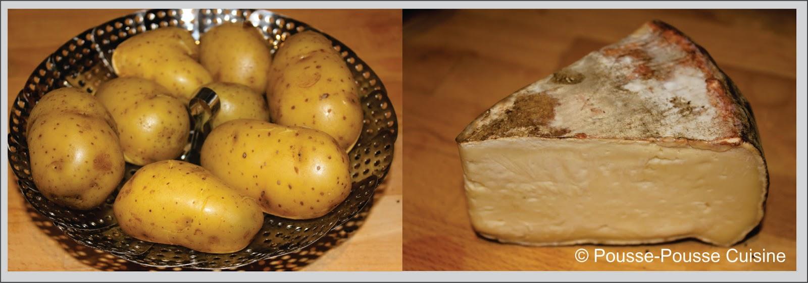 pousse pousse cuisine millefeuille de pomme de terre la tomme de savoie. Black Bedroom Furniture Sets. Home Design Ideas