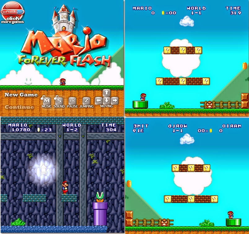 Super Mario flash, juegos gratis para pc