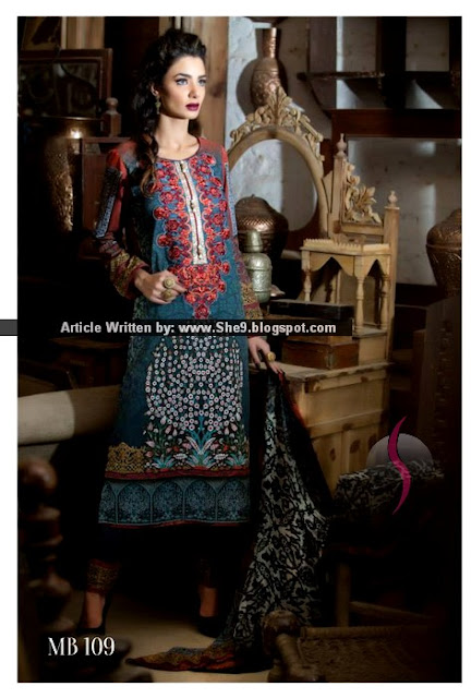 Maria B Digital Lawn Prints 2015