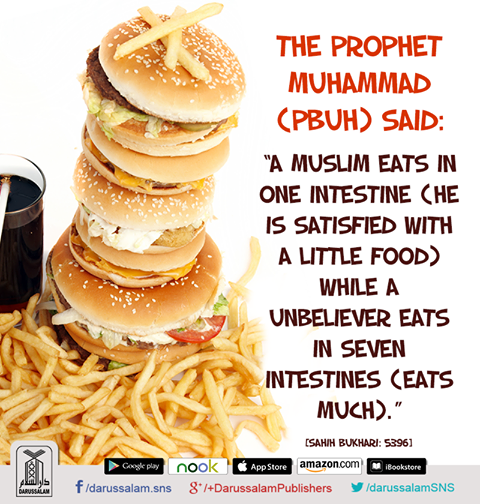 Hadith About Eating - Best Right Way