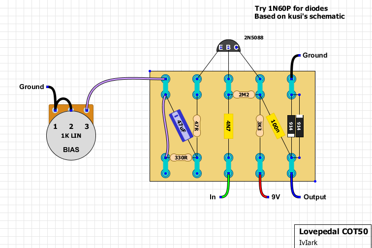 Circuit Layout Guidelines as well Pagina3 likewise Gindex in addition Schematics together with Lovepedal Cot50 Point To Point Layout. on tube guitar distortion schematics