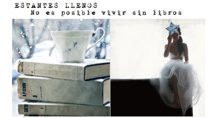 Estantes Llenos (de libros).