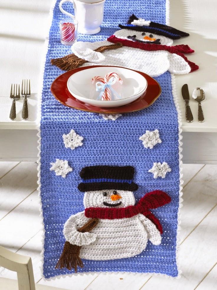 Decoraci n navide a a crochet margarita knitting for Decoracion hogar a crochet