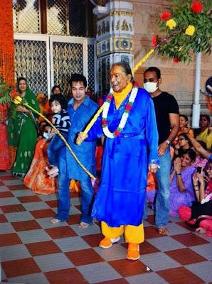 Kripalu Maharaj celebrating Gudiya 2013