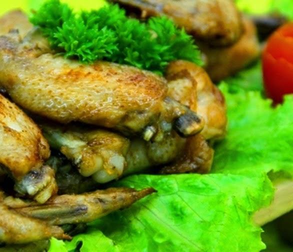 Resep dan Cara Membuat Sayap Ayam Lada Hitam