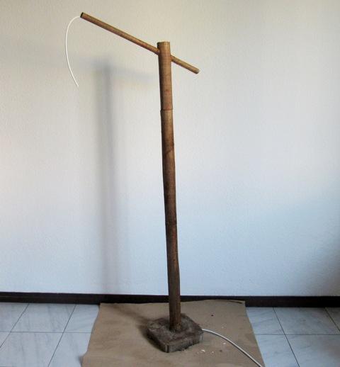 DIY Cómo hacer una lámpara de pie con material reciclado ...