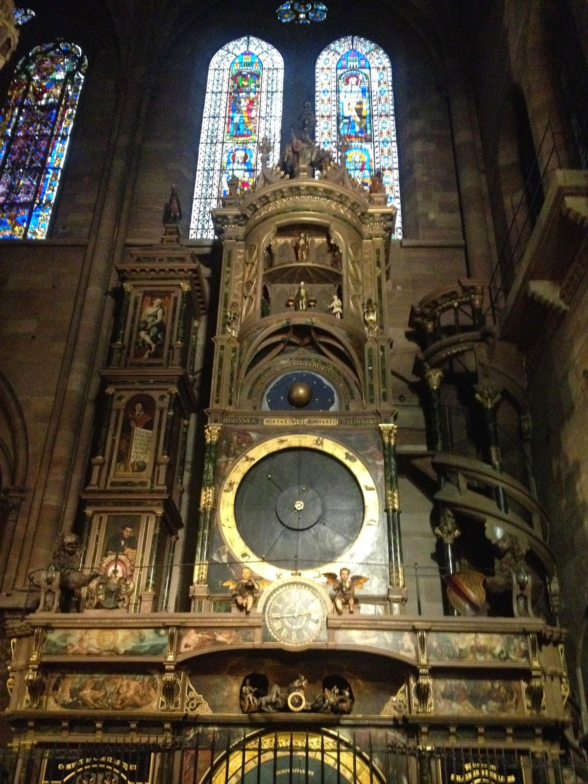 Astronomical clock in the Strasbourg Cathedral