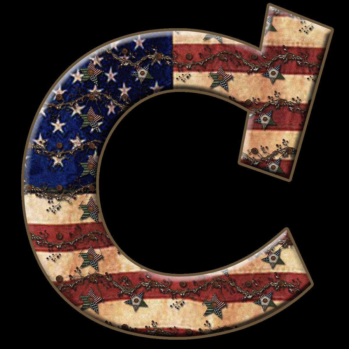 Granny Enchanted U0026 39 S Blog  Free Americana Twigs Digi Scrapbook Capital Alphabet