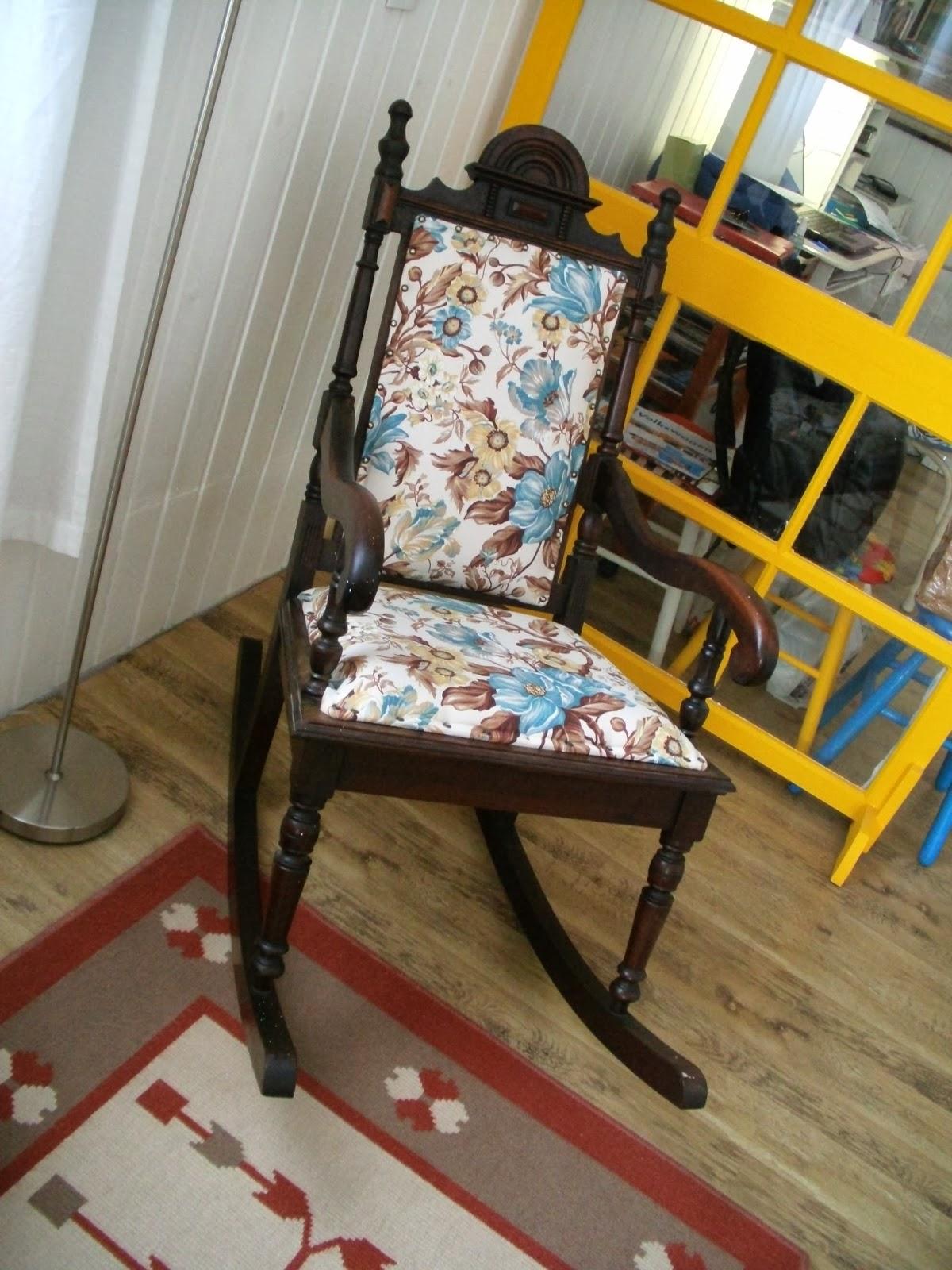 decorar sustentável: Cadeira de balanço reformada #C1990A 1200x1600