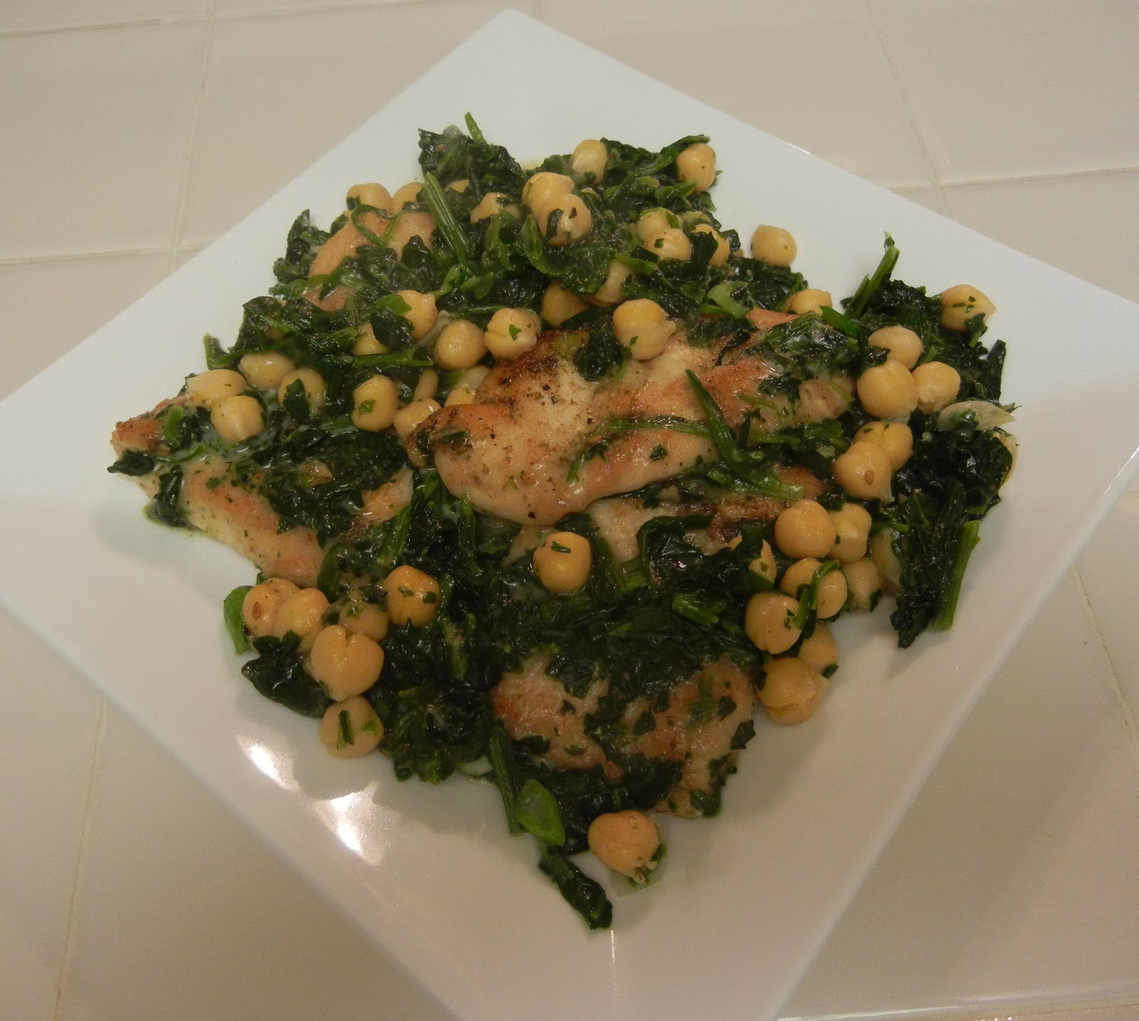 Chicken+with+Spinach+and+Chickpeas Weight Loss Recipes A day in my ...