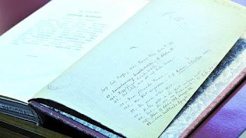 """BORGES LO HIZO. Este es uno de los ejemplares que se incluyen en el trabajo """"Borges, libros y lectu"""