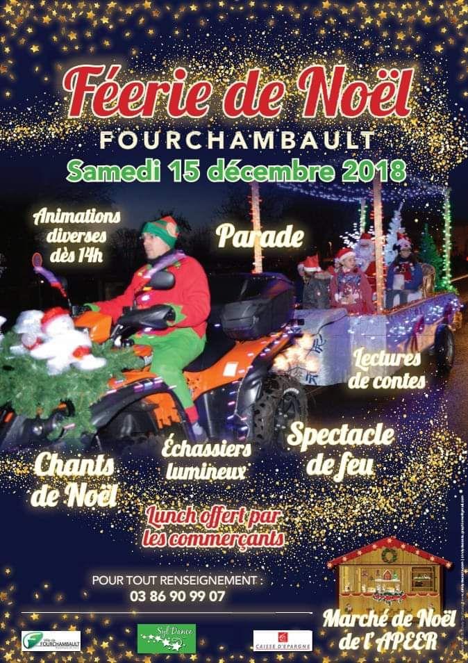 Féerie de Noël le 15 décembre à Fourchambault