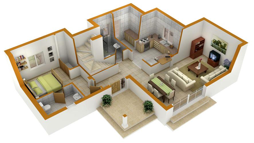 3d modeling layouts for Distribucion de oficinas en una empresa