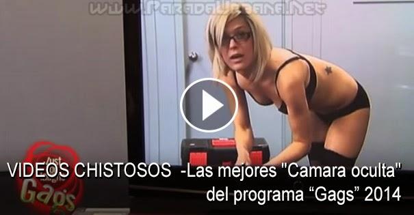 """VIDEO CHISTOSOS -Las mejores """"Cámara oculta"""" del programa gags 2014"""