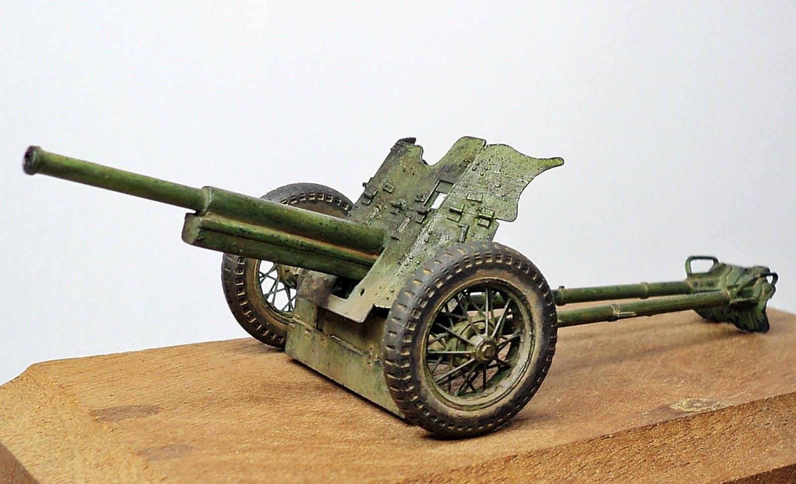 Artilleria Espa Ola A Escala 1 35 Ca N Placencia Urss 45 44
