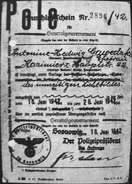 Expulsão dos Poloneses Documento