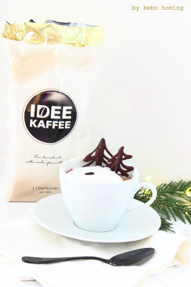 Eine einfache und gelingsichere Kaffeemousse mit Idee Kaffee der Firma Darboven samt Rezept gibt es auf kebo homing, dem Südtiroler Food- und Lifestyleblog, das perfekte Dessert für Weihnachten, Foodstyling und Photography