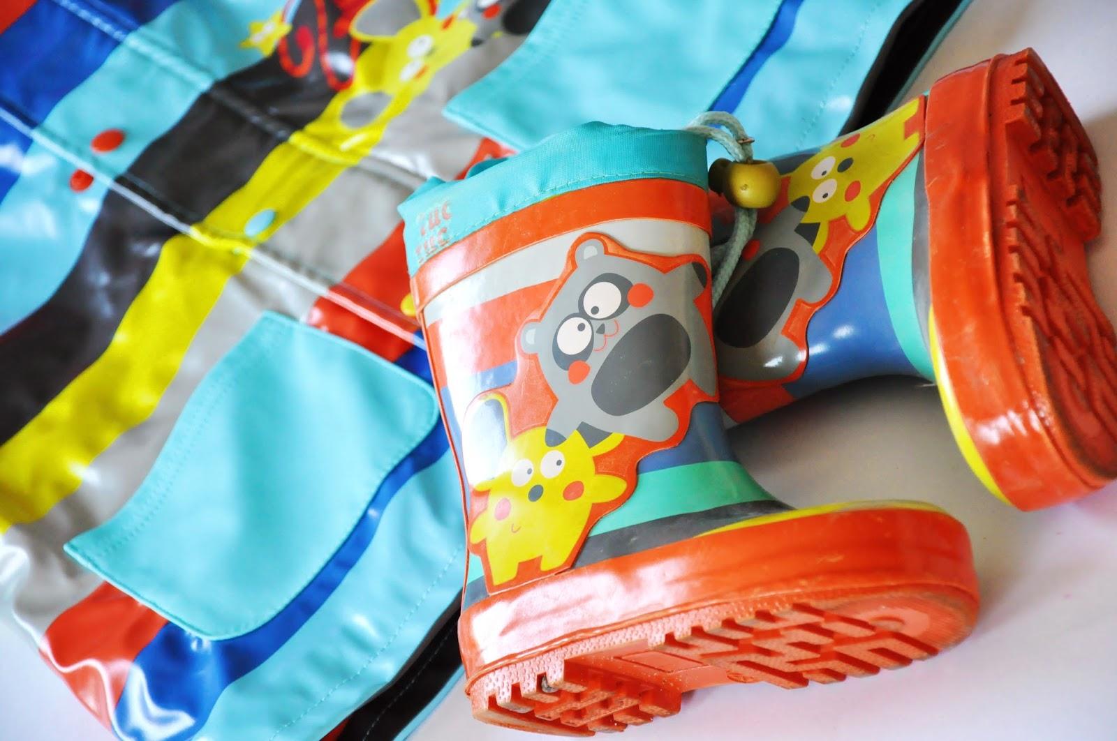 детские резиновые сапоги tuc tuc