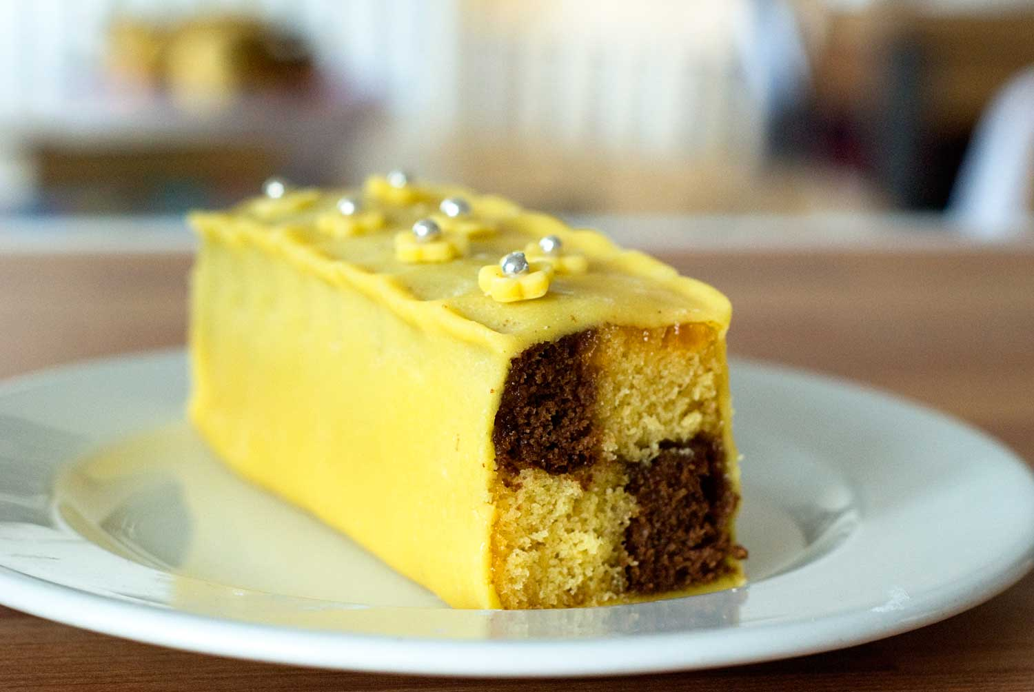 the bunting technical granddaughter a cake to battenburg cake on
