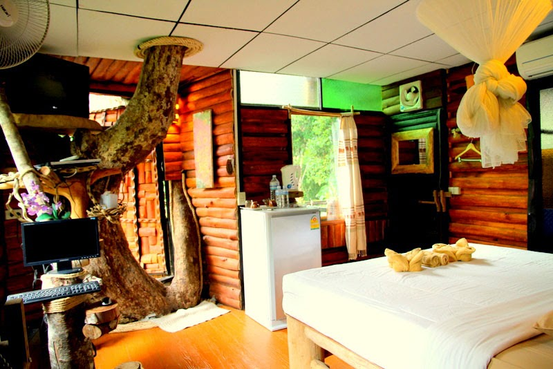 Khao Sok Tree House resort, Guest room