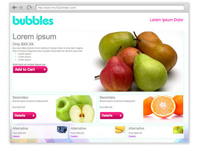 maju perniagaan kedai on-line blogshop tema percuma
