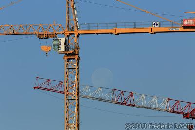 chantier construction grue Lune Sénart Seine-et-Marne