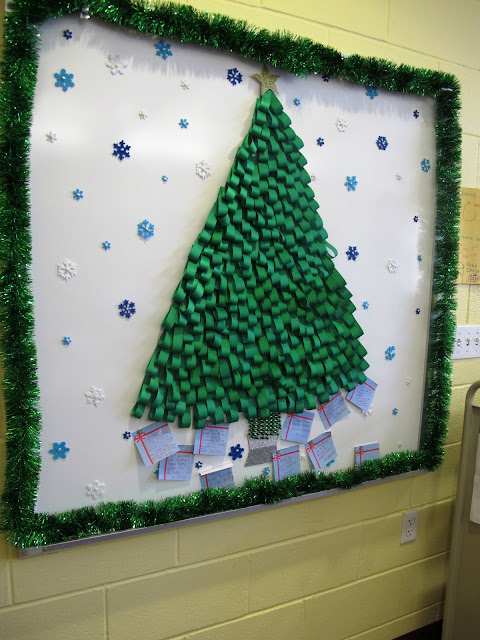 Christmas Ideas For School Libraries : Another day in paradise library holiday decorations