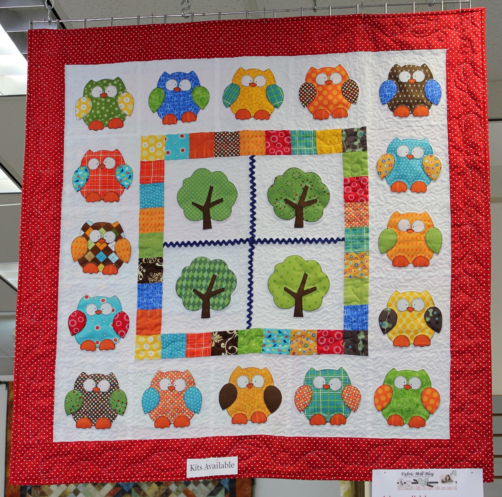 Fabric mill hooterville quilt kit - Quilt rits ...