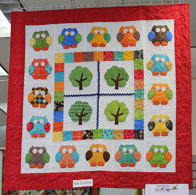 Hooterville Quilt Kit from Fabric Mill