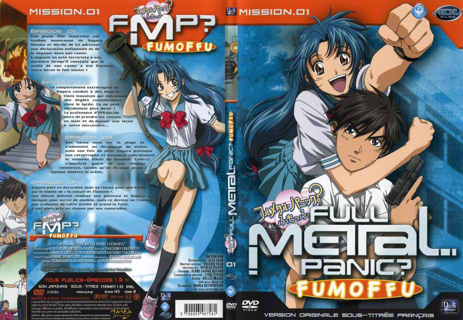 lista de episodios de full metal panic fumofu: