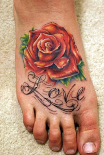Funny Feet Tattoos
