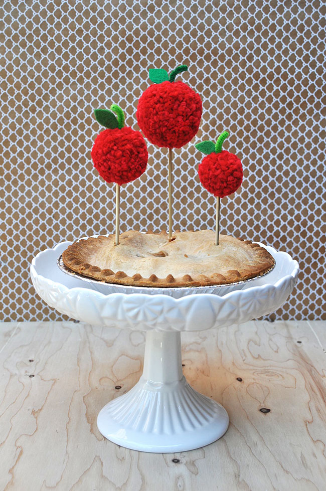 DIY Apple Pie Toppers