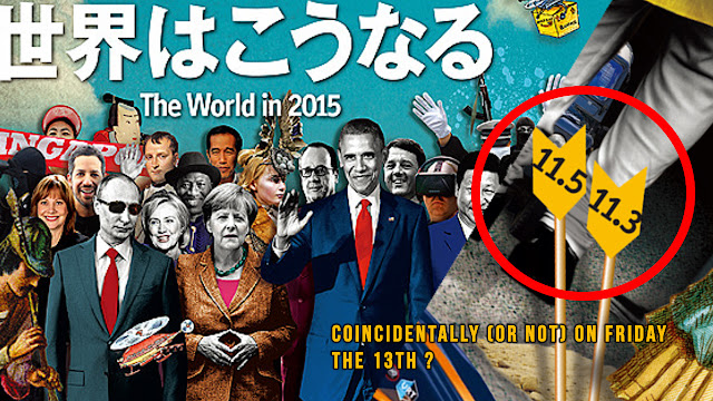 Paris False Flag Event Predicted on Cover on 2015 Economist Magazine