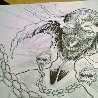 spawn art drawing