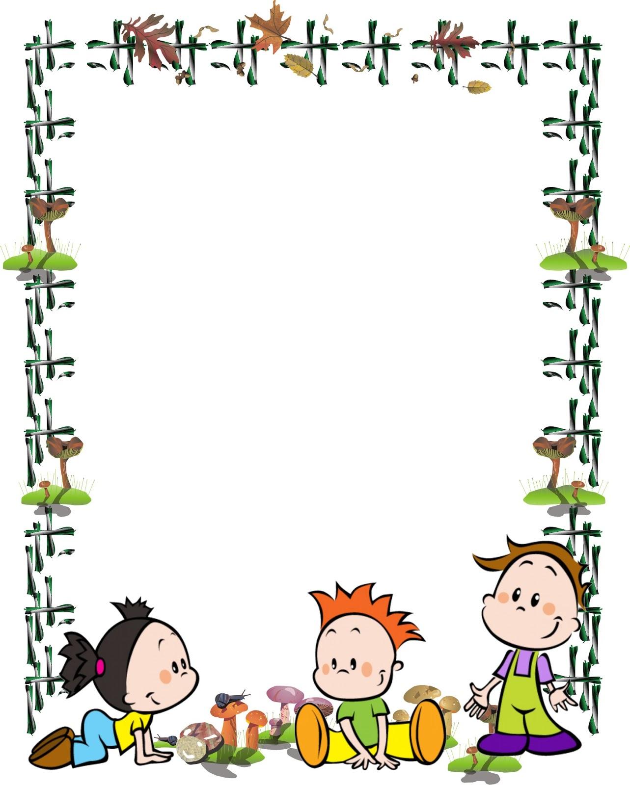 Bordes decorativos para niños gratis - Imagui