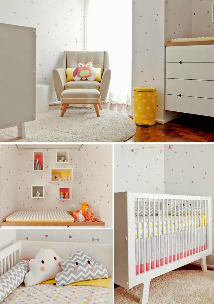 Quartos, Bebê and Quartos de bebê on Pinterest ~ Tapetes Quarto Nenem