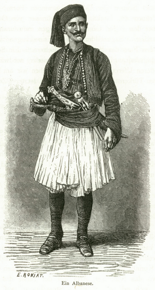 Ein Albanese(Greece)