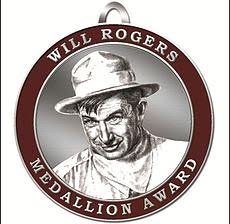 WILL ROGERS MEDALLION AWARD winner