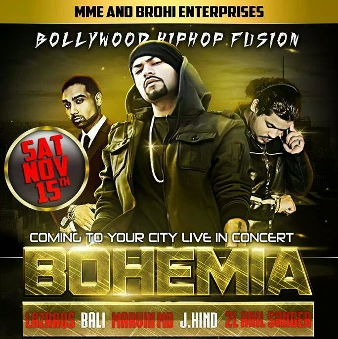 !!Bohemia Live in Concert!!