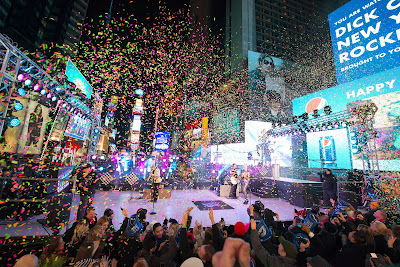 Ball Drop at Times Square