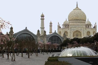 gare de Tours / projet ilot Vinci : Tour Taj Mahal