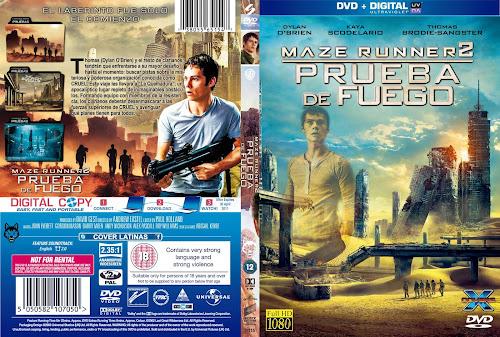 The Maze Runner Chapter II (2015) DVD COVER