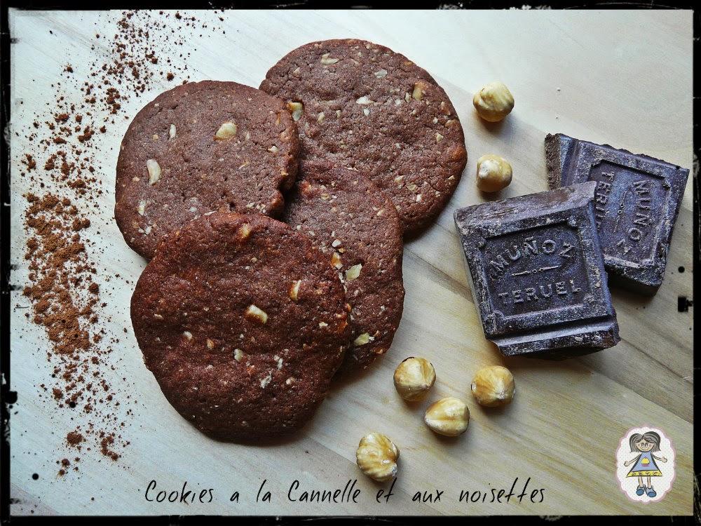 Cookies de Canela y Avellanas | El Mundo de Ana