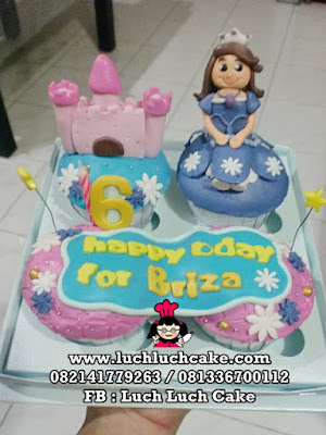 Sofia The First Birthday Cupcake Set