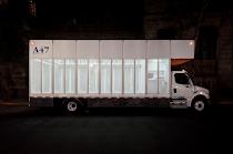 a47, a primeira biblioteca móvel de livros de arte do mundo.
