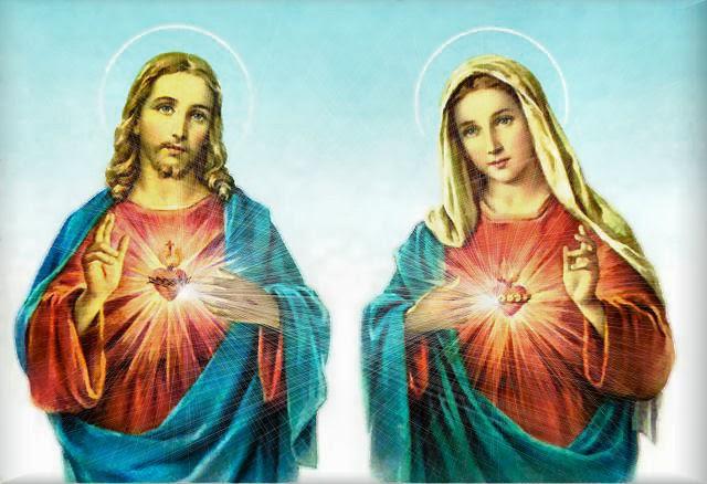 O Coração de Jesus e de Maria ao Mundo