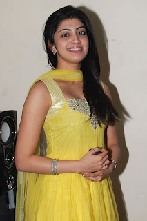Praneetha Hot in yellow Dress Photos