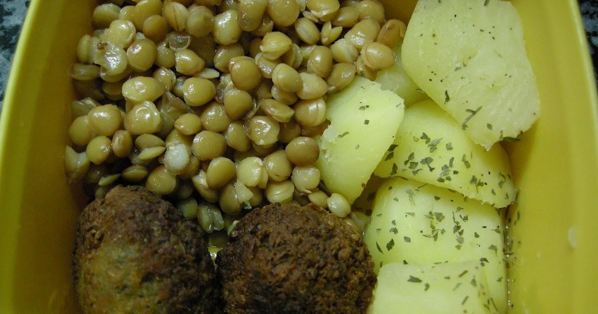 Hoy quiero cocinar lentejas con falafel y patatas for Cocinar lentejas de bote