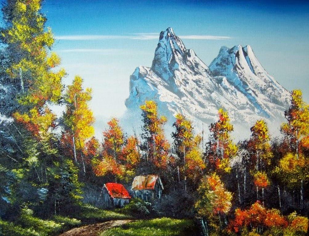 paisajes-con-montañas-al-oleo